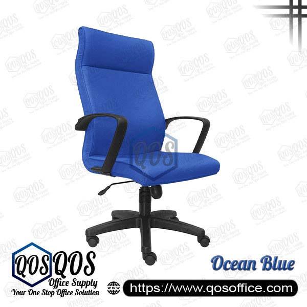 Office Chair Executive Chair QOS-CH191H Ocean Blue