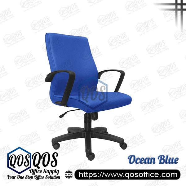 Office Chair Executive Chair QOS-CH192H Ocean Blue