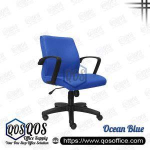Office Chair Executive Chair QOS-CH193H Ocean Blue