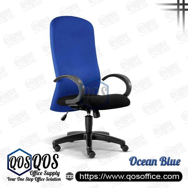 Office Chair Executive Chair QOS-CH2000H Ocean Blue