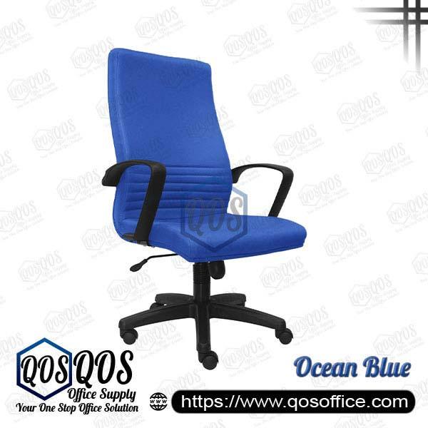 Office Chair Executive Chair QOS-CH211H Ocean Blue