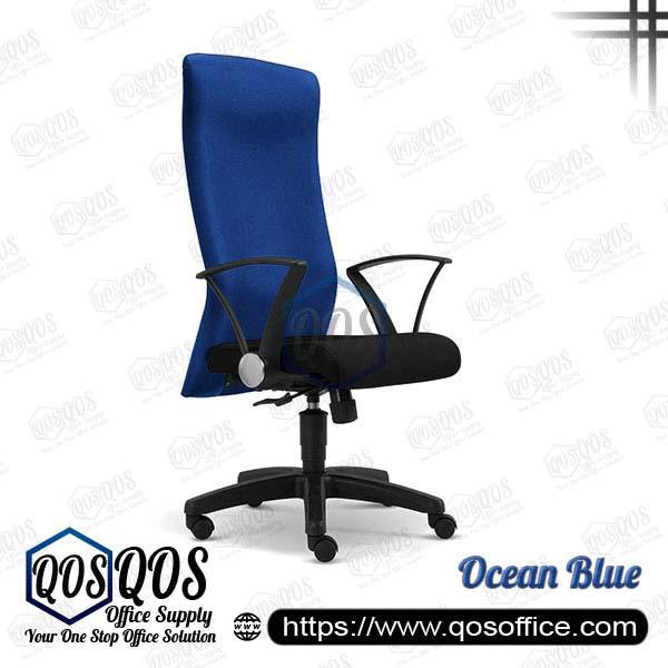 Office Chair Executive Chair QOS-CH2271H Ocean Blue