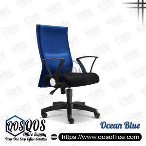Office Chair Executive Chair QOS-CH2392H Ocean Blue