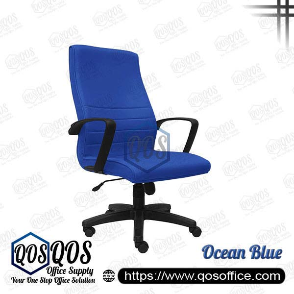 Office Chair Executive Chair QOS-CH251H Ocean Blue