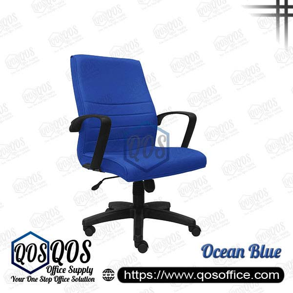 Office Chair Executive Chair QOS-CH252H Ocean Blue