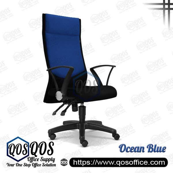 Office Chair Executive Chair QOS-CH2581H Ocean Blue