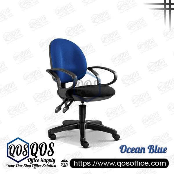 Office Chair Secretary Chair QOS-CH248H Ocean Blue