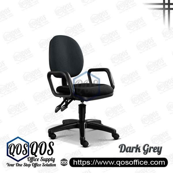 Office Chair Secretary Chair QOS-CH258H Dark Grey