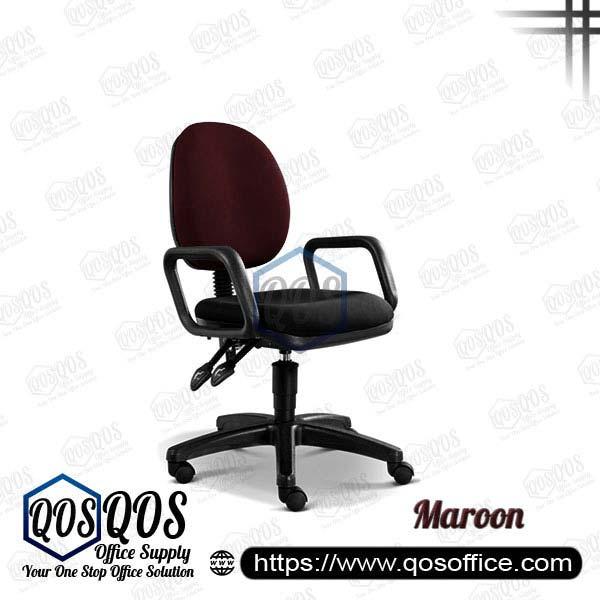 Office Chair Secretary Chair QOS-CH258H Maroon