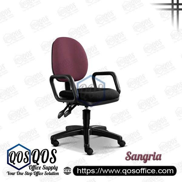Office Chair Secretary Chair QOS-CH258H Sangria