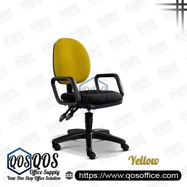 Office Chair Secretary Chair QOS-CH258H Yellow