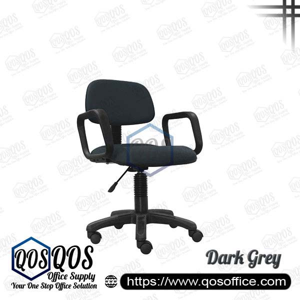 Office Chair Secretary Chair QOS-CH411HA Dark Grey