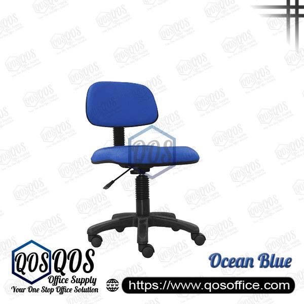 Office Chair Secretary Chair QOS-CH412H Ocean Blue