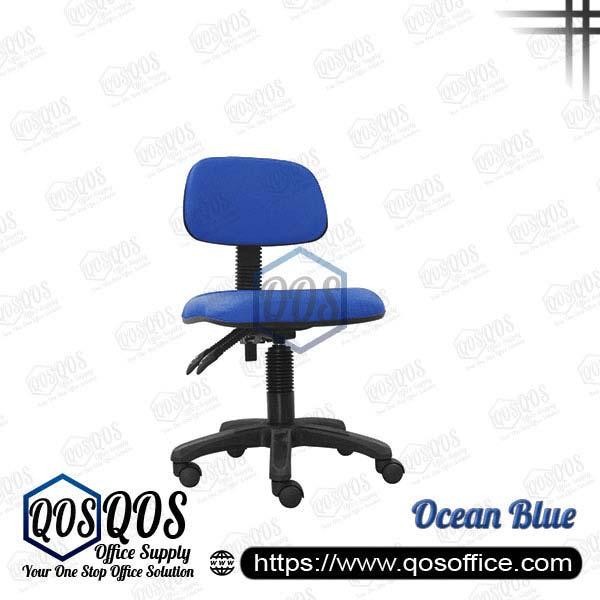 Office Chair Secretary Chair QOS-CH414H Ocean Blue