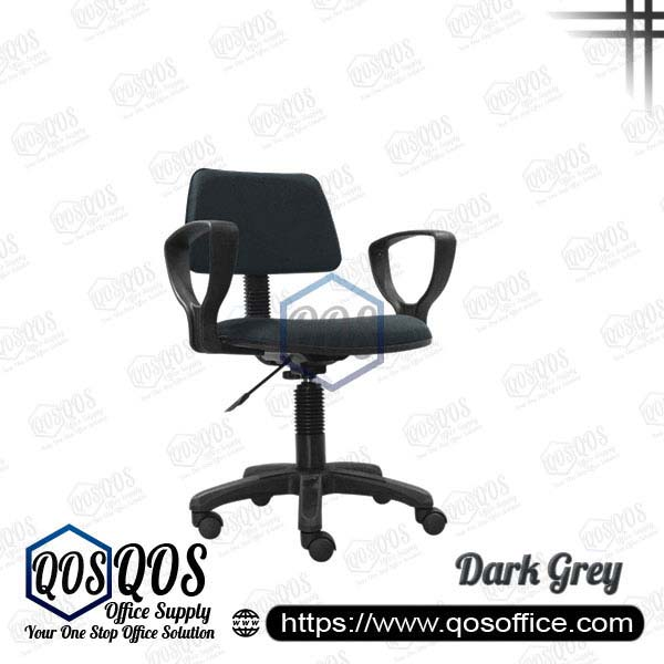 Office Chair Secretary Chair QOS-CH419HA Dark Grey
