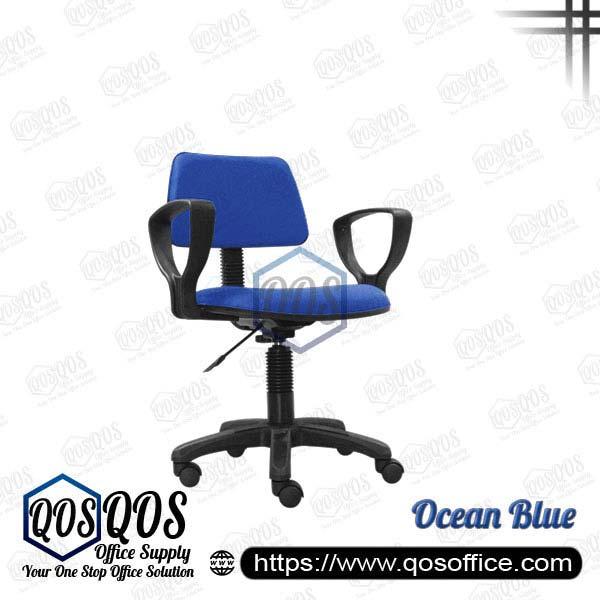 Office Chair Secretary Chair QOS-CH419HA Ocean Blue