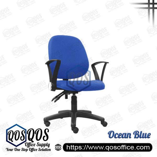 Office Chair Secretary Chair QOS-CH427HA Ocean Blue