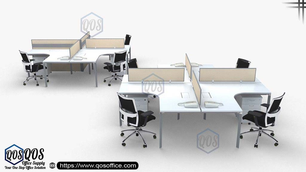 QOS Office Supply Open Concept Partition