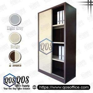 Steel-Cabinet-Full-Height-Cupboard-with-Sliding-Door-QOS-GS116