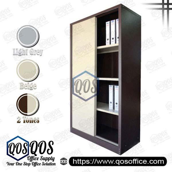 Steel-Cabinet-Full-Height-Cupboard-with-Sliding-Door-QOS-GS116