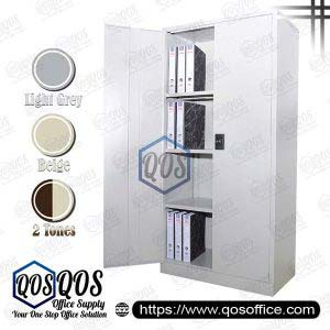 Steel-Cabinet-Full-Height-Cupboard-with-Swinging-Door-QOS-GS118