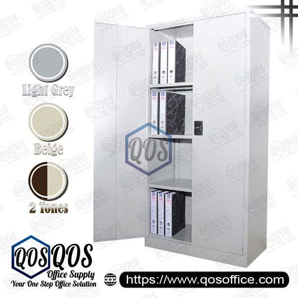 Steel-Cabinet-Full-Height-Cupboard-with-Swinging-Door-QOS-GS118