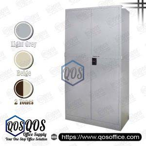 Steel-Cabinet-Full-Height-Cupboard-with-Swinging-Door-and-Locking-Bar-QOS-GS118-LB