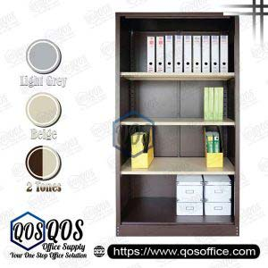 Steel-Cabinet-Open-Shelf-Full-High-Cupboard-QOS-GS118W