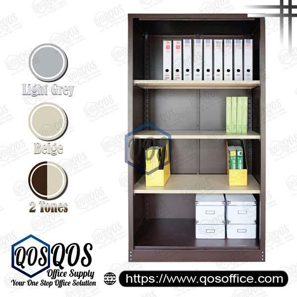 Steel-Cabinet-Open-Shelf-Full-High-Cupboard-QOS-GS118W