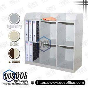 6 Pigeon Holes Half Height Steel Cabinet | QOS-S113-A