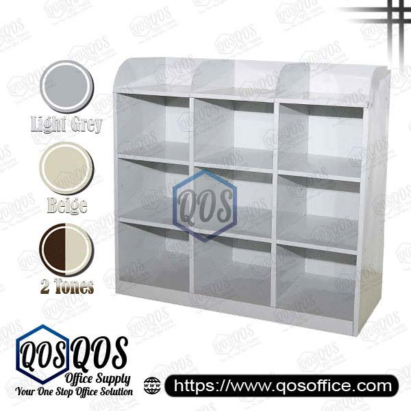 Steel-Cabinet-Pigeon-Holes-Half-Height-Steel-Cabinet-QOS-GS113-B