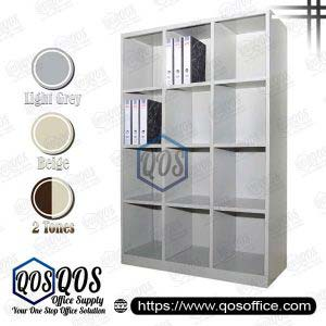 Steel-Cabinet-Pigeon-Holes-High-Cabinet-QOS-GSPH12-3615
