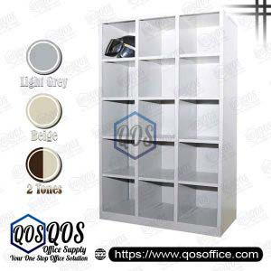 Steel-Cabinet-Pigeon-Holes-High-Cabinet-QOS-GSPH15-3615