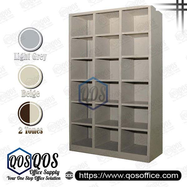 Steel-Cabinet-Pigeon-Holes-High-Cabinet-QOS-GSPH18-3615
