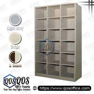 Steel-Cabinet-Pigeon-Holes-High-Cabinet-QOS-GSPH18-3618