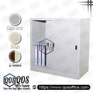 Steel-Cabinet-Sliding-Door-Half-Height-Steel-Cabinet-QOS-GS111