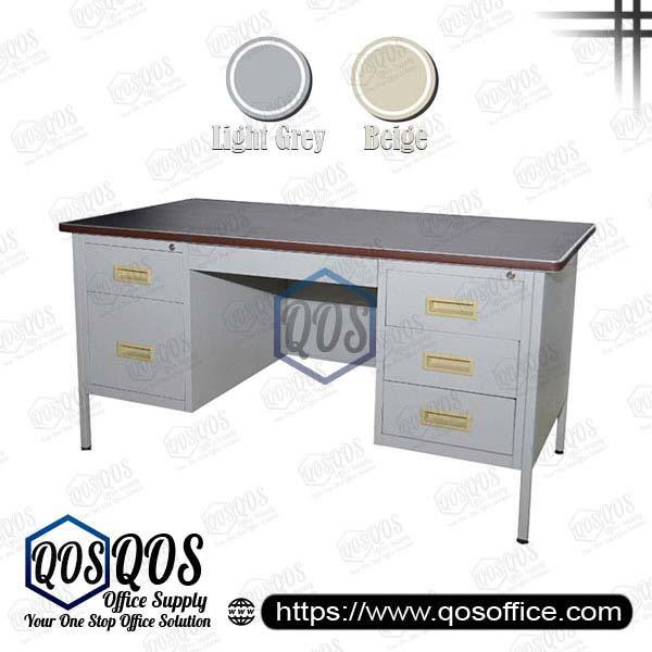 Steel-Desk-Double-Pedestal-Table-QOS-GS103-LT