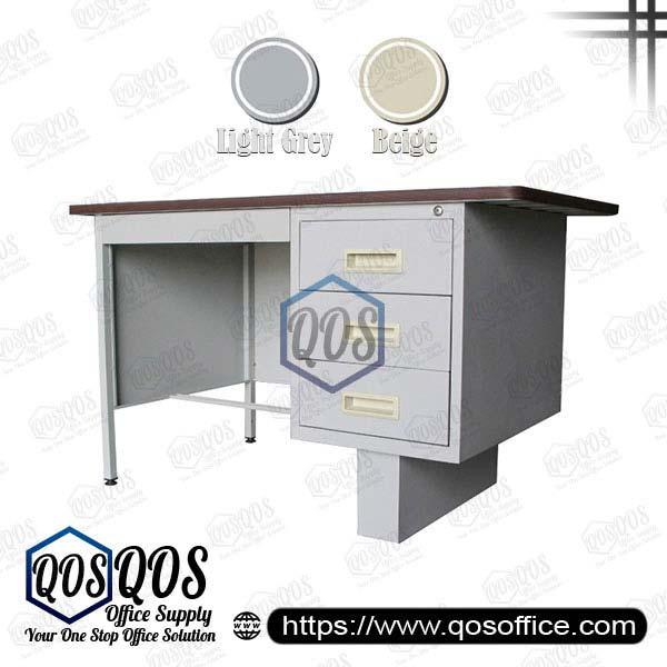Steel-Desk-Single-Pedestal-Table-QOS-GS102-LT