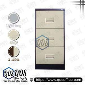 Filing Cabinet | 3 Drawer | QOS-S106-BB
