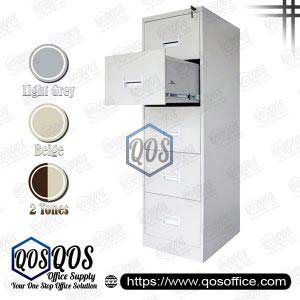 Steel-Filing-Cabinet-5-Drawer-QOS-GS106-5A