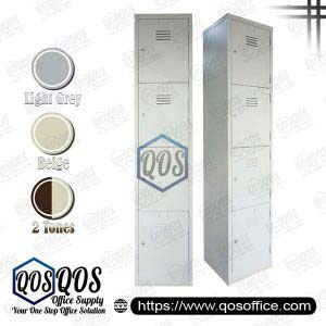 Steel-Locker-4-Compartment-Steel-Locker-QOS-GS114-BS