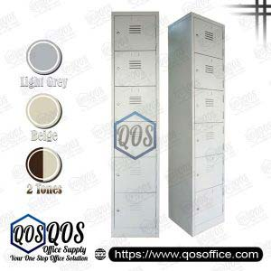 Steel-Locker-6-Compartment-Steel-Locker-QOS-GS114-A