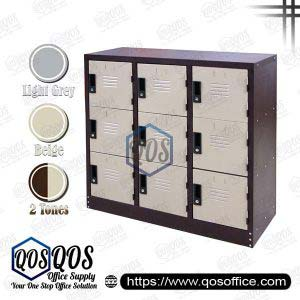 Steel-Locker-Half-Height-9-Compartment-Steel-Locker-QOS-GS129-A