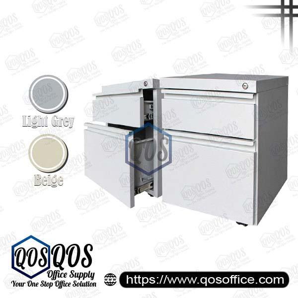 Steel-Mobile-Pedestal-1D1F-QOS-GS182