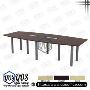 Boat Shape Conference Table | QOS-QBC