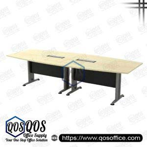Boat-Shape Conference Table 10′ | QOS-TBB-30