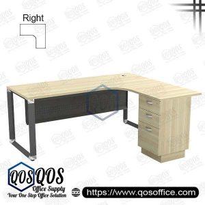 L-Shape Office Table 5'x5′ | QOS-OML-15153D