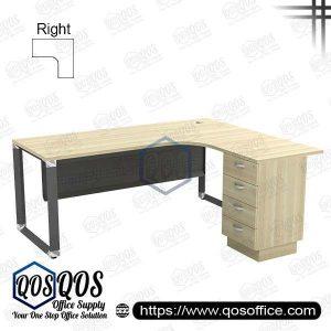 L-Shape Office Table 5'x5′ | QOS-OML-5524D