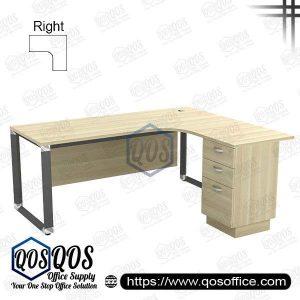 L-Shape Office Table 5'x5′ | QOS-OWL-5523D