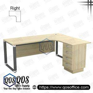 L-Shape Office Table 5'x5′ | QOS-OWL-5524D